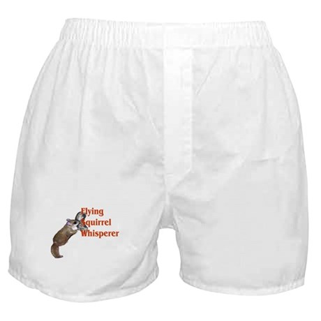 Flying Squirrel Whisperer Boxer Shorts