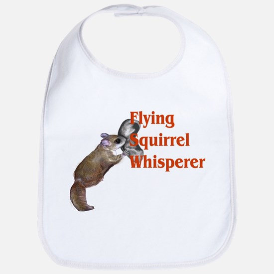 Flying Squirrel Whisperer Bib