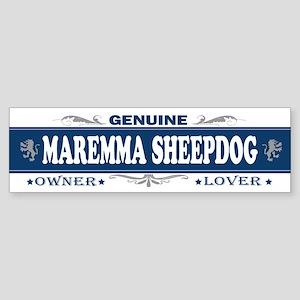 MAREMMA SHEEPDOG Bumper Sticker