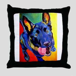 German Shepherd #2 Throw Pillow