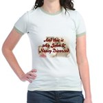 Why John & Nancy Divorced Jr. Ringer T-Shirt