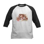 Why John & Nancy Divorced Kids Baseball Jersey
