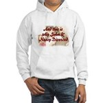 Why John & Nancy Divorced Hooded Sweatshirt