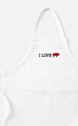 I LOVE BUFFALO BBQ Apron
