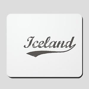 Iceland flanger Mousepad