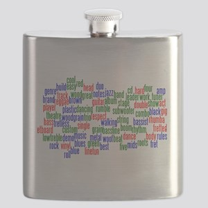 bass related words wordle red green blue Flask