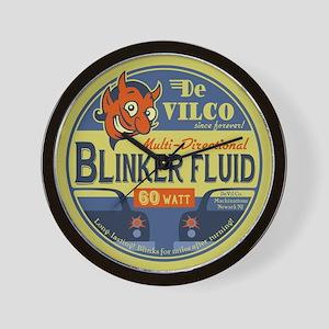 DeVilco Blinker Fluid Wall Clock