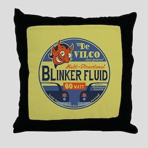 DeVilco Blinker Fluid Throw Pillow