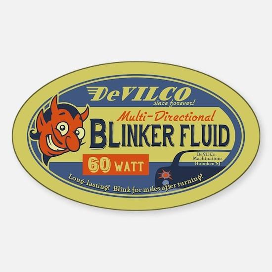 DeVilco Blinker Fluid Sticker (Oval)