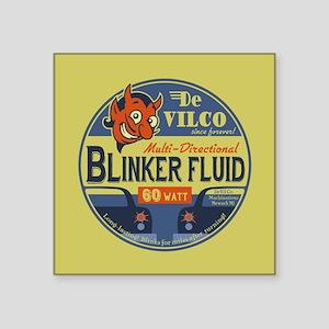 """DeVilco Blinker Fluid Square Sticker 3"""" x 3"""""""