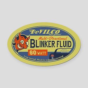 DeVilco Blinker Fluid Oval Car Magnet