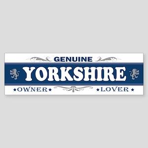YORKSHIRE Bumper Sticker