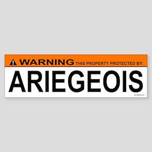 ARIEGEOIS Bumper Sticker