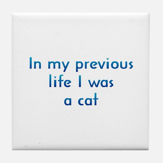 PL Cat Tile Coaster