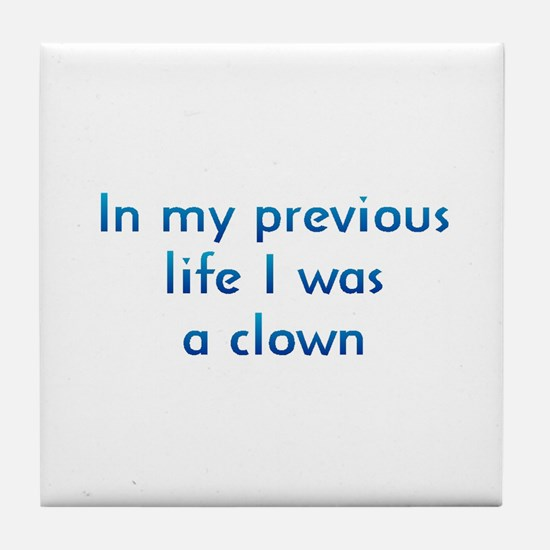 PL Clown Tile Coaster