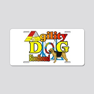 Bloodhound Agility Aluminum License Plate