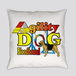Bloodhound Agility Everyday Pillow