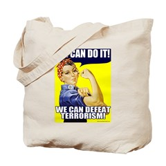 We Can Defeat Terrorism Tote Bag