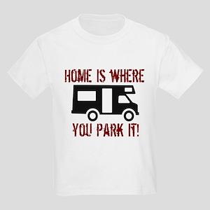 Home (RV) Kids Light T-Shirt