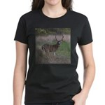 Big 4-point Buck Women's Dark T-Shirt