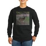 Big 4-point Buck Long Sleeve Dark T-Shirt