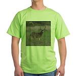 Big 4-point Buck Green T-Shirt