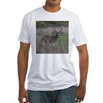 Big 4-point Buck Fitted T-Shirt
