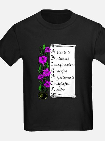 Abigail Flowers & Scroll T-Shirt
