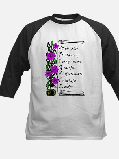 Abigail Flowers & Scroll Baseball Jersey