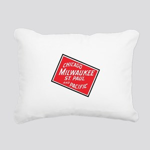 Badge of Chicago, Milwau Rectangular Canvas Pillow