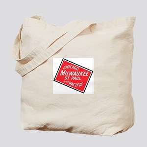 Badge of Chicago, Milwaukee, St.Paul & Pa Tote Bag