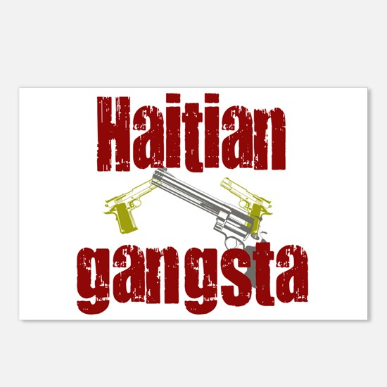 Haitian gangsta Postcards (Package of 8)