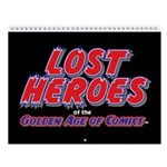 Lost Heroes Of Golden Age 2018 Wall Calendar
