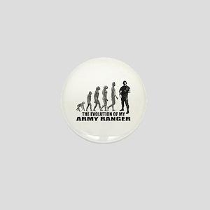 Evolution - An Army Ranger Mini Button