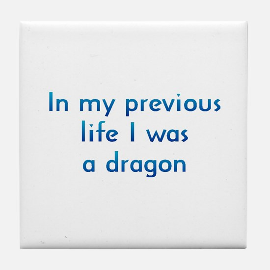 PL Dragon Tile Coaster