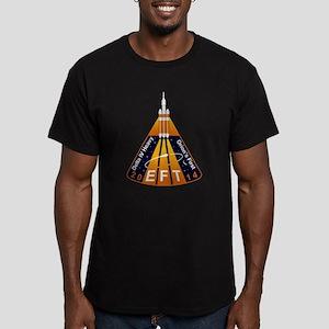 EFT-1 Launch Team Men's Fitted T-Shirt (dark)