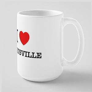 I Love CATONSVILLE Mugs