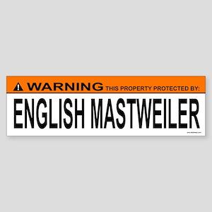 ENGLISH MASTWEILER Bumper Sticker