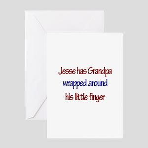 Jesse - Grandpa Wrapped Aroun Greeting Card