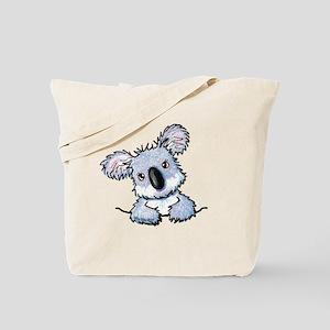 Pocket Koala Tote Bag