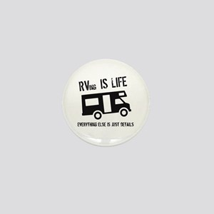 RVing is Life Mini Button