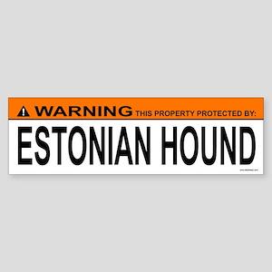ESTONIAN HOUND Bumper Sticker