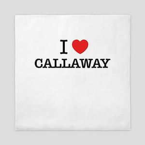 I Love CALLAWAY Queen Duvet