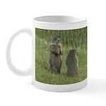 Standing Groundhogs Mug