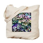 Colorful Abstract Plants Tote Bag