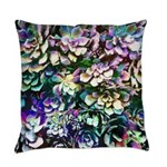 Colorful Abstract Plants Everyday Pillow