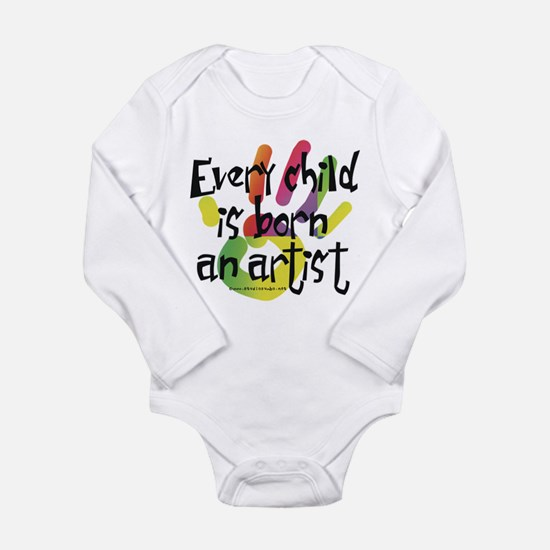 Every Child is Born an Artist Body Suit