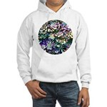 Colorful Abstract Plants Hoodie