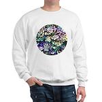 Colorful Abstract Plants Sweatshirt