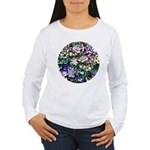 Colorful Abstract Plants Long Sleeve T-Shirt